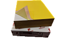 "1,000 Sheets Blank Carbonless Paper-Regular-8.5""x11""-4-part-Reverse"