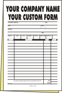 2,500 legal page 2-part Forms